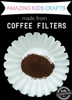 This is soooo fun!!!! 9 {Amazing} Coffee Filter Crafts