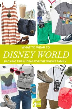 Planning what to wear to Disney World is one of my favorite ways to count down to a Disney vacation. Stay cool & comfy and still enjoy that Disney magic! Grab my packing tips outfit ideas for the whole family when planning your next Disney vacation. Disney Vacation Outfits, Disney World Packing, Disney World Outfits, Disney World Vacation, Disney Vacations, Walt Disney World, Disney Travel, Vacation Ideas, Disney Cruise