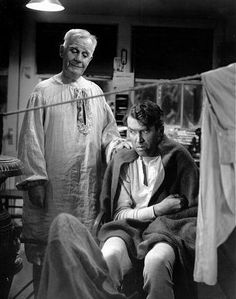 Movie ~ IT'S A WONDERFUL LIFE ~ Clarence, the Angel, can earn his wings by helping George Bailey realize that life would not have been wonderful had George not been born.
