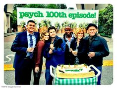 The cast celebrates their 100th episode!