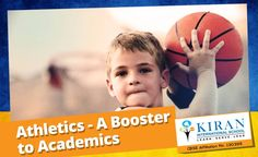 Do you know that students, especially girls, who play sports do well in academics as well? Exercise and Athletics improves learning, memory, concentration, and even team work which are all important for studies as well as future career too! So, encourage your kids to play sports starting now! #Sports #Athletics #Academics