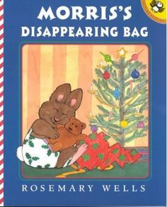 When-Morris-finds-a-disappearing-bag-on-Christmas-day-he-jumps-right-in-and-becomes-invisible-Now-he-has-something-everyone-wants-to-try-but-they-have-to-find-him-first-Full-color-illustrations