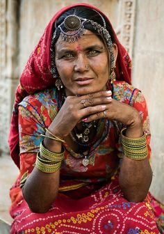The women take pride in their traditional jewellery and Rajasthani womenfolk cherish their heritage. The pieces of jewellery are often heirlooms and passed down in families. The Rakhri, Bindi and Borla are the main head ornaments of the women of the state. Besides these, they use an assortment of jeweled pins, clips and hair brooches. The Nath is a nose ring that holds a very important place in the woman's adornments. It is considered auspicious and worn on every joyous occasion.<br /> <br…