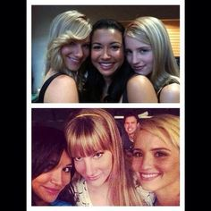 Starting together, ending together.. just how it should be  #UnholyTrinityIsBack #GleeSeason6