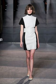 All in Black and White: @Proenza Schouler #fall #fashion