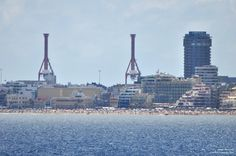 Vista de Las Palmas de Gran Canaria, 24 de Junio de 2015, a las 12:00 am...http://www.kokilin.com