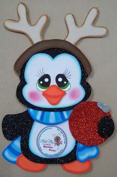 ♥  pingüino navideño ♥