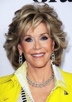 Os sorrisos mais bonitos de Hollywood: Jane Fonda.