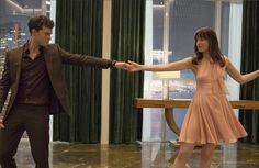 Jamie Dornan and Dakota Johnson  #FiftyShades #BehindtheScenes
