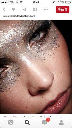 New Eye Makeup Silver Glitter Make Up 34 Ideas Makeup Inspo, Makeup Art, Makeup Inspiration, Eye Makeup, Hair Makeup, Party Makeup, Makeup Ideas, Makeup Tips, Angel Makeup