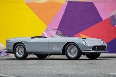 Ferrari 250 GT LWB California Spyder Ferrari, Gto, Cars Motorcycles, Auction, California, Gallery, Automobile, Roof Rack
