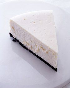 """This recipe for New York-style cheesecake, adapted from """"Martha Stewart's Baking Handbook,"""" makes a smooth and creamy dessert that everyone will love."""