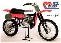 JAWA ČZ 250 (1989) Mx Bikes, Motocross Bikes, Vintage Motocross, Racing Motorcycles, Cool Bikes, Enduro, Scrambler, Dirt Biking, 50cc
