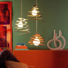 Scopri come fare il lampadario in feltro fai da te - Fai da te   Donna Moderna