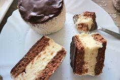 """""""Kubanka"""" – Rezept für leckere Törtchen """"Russische Mütze"""" Vanilla Cake, Tiramisu, Buffet, Cheesecake, Food And Drink, Baking, Eat, Ethnic Recipes, Desserts"""