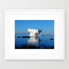 New, Iceberg on the Water https://society6.com/product/iceberg-in-the-shallows_framed-print?curator=danbythesea This photo is Available on over 20 products Follow DanByTheSea https://society6.com/danbythesea #society6 #danbythesea