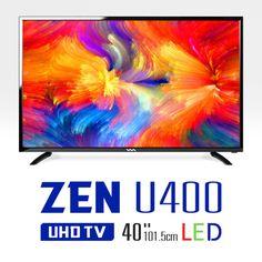 "New 40"" Wasabi Mango ZEN U400 Real 4K UHD TV HDMI 60Hz 3840x2160 LED TV Monitor #ad"