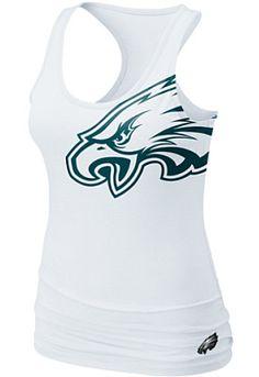 Nike Philadelphia Eagles Women's Big Logo Tank - Dick's Sporting Goods