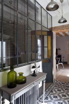 Verri res on pinterest cuisine atelier and glass walls - Cuisine verriere atelier ...