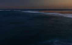 A longish exposure of the ocean after sunset.  Taken from Nobbys Head, Newcastle, Australia. While on a photowalk with The Photowalk Guys.