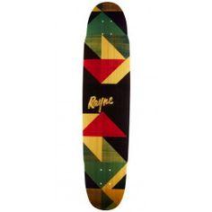 Rayne Anthem Geo Graphic Longboard Deck