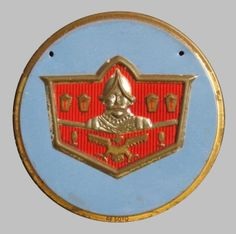 1940s DeSoto Car Badge