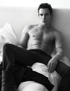 Jonathan Rhys Meyers (Joe Manganiello, Pharrell, David Gandy + More Go Shirtless in Bed for W Magazine)