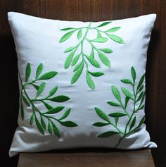 Pillow Cover Decorative Pillow Throw Pillow White by KainKain