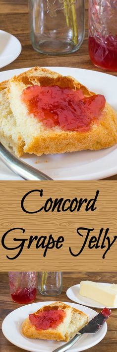 Grape jelly made with Concord grapes is easier than you think. Made ...