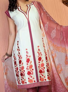Punjabi Salwar Suit Neck Design Gala Pattern
