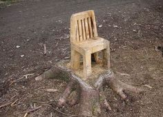 stump furniture | Log furniture 2 / Another Tree Stump #Chair