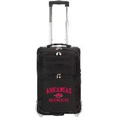 Arkansas Razorbacks Nylon Carry On Luggage