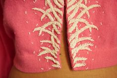 Embroidered details