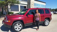 JOHNNA's new 2017 JEEP  PATRIOT! Congratulations and best wishes from Benny Boyd Motor Company - Marble Falls and DEE NIXON.