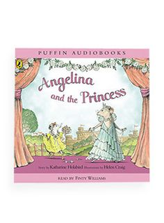 angelina ballerina: angelina and the princess book and cd