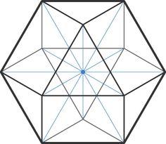 A cuboctahedron