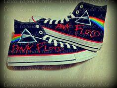Tenis personalizado Pink Floyd