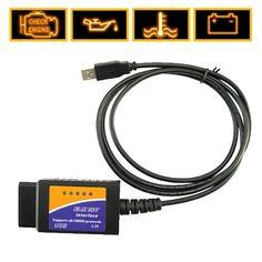ELM327 USB To VAG-COM Car Diagnostics Cable
