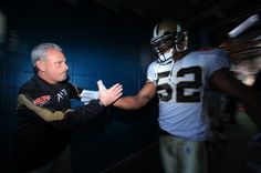 Joe Vitt coach interino de los Saints