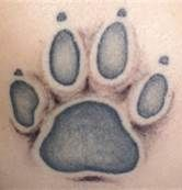 dog paw tattoo - Bing Images