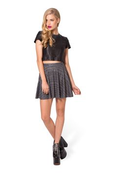 Chainmail Skater Skirt (48HR) by Black Milk Clothing $50AUD (S)