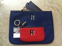 REBECCA MINKOFF Both Pouches R -NEW- Great Opportunity Retail: $140              #RebeccaMinkoff #KeyCoinMiniWallet  http://www.ebay.com/cln/brandsandu2016 https://www.tradesy.com/closet/brandsu/