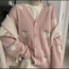 Tumblr Outfits, Mode Outfits, Girl Outfits, Fashion Outfits, Peach Outfits, Fashion Blouses, Grunge Outfits, Kawaii Fashion, Cute Fashion