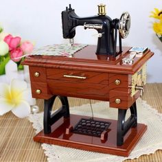 [Limited Edition] Vintage Sewing Machine Music Box – Fancy Collective