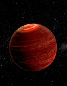First aurora beyond solar system was found on a brown dwarf some 18 light-years away. This aurora is times more powerful than any astronomers have witnessed before. Artist conception of an aurora over the polar region of a brown dwarf. Cosmos, Interstellar, Space Story, Alien Worlds, Science Photos, Science News, Space And Astronomy, Light Year, Our Solar System