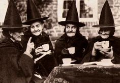 """Your average witch is not, by nature, a social animal as far as other witches are concerned. There's a conflict of dominant personalities. There's a group of ringleaders without a ring. There's the basic unwritten rule of witchcraft, which is 'Don't do what you will, do what I say.' The natural size of a coven is one. Witches only get together when they can't avoid it.""  ~ Terry Pratchett, ""Witches Abroad"" #quotes @Halloween"