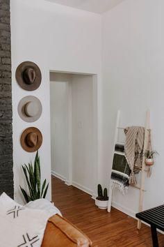 Cozy Minimalist Home Life Decor Wall Black White Interior Grey Walls