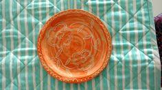Plato cerámica artesanal
