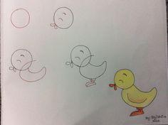 Ideas de dibujos fáciles para hacer con los pequeños