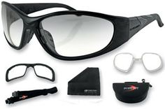 With a variety of styles and lenes, Bobster Eyewear specializes in the design of performance glasses and goggles suitable for activities such as motorcycle riding, water sports, winter sports, hunting and more.